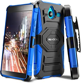 Lumia 640 XL Case, Evocel [New Generation Series] Belt Clip Holster, Kickstand, Dual Layer for Microsoft Lumia 640 XL, Blue (EVO-NK640XL-XX02)