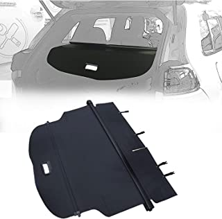 【Upgrade Version】Opall BLACK Retractable Rear Trunk Cargo Luggage Security Shade Cover Shield for Jeep Cherokee 2014 2015 2016 2017 2018