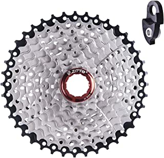 Ztto 9 Speed Cassette 11-40 T for Shimano Hub Mountain Bike MTB Bicycle with Rear Derailleur Hanger Extension