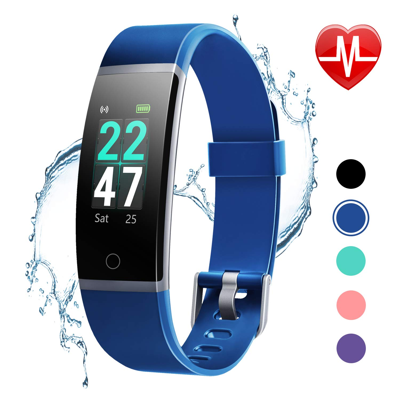 LETSCOM Fitness Activity Waterproof Pedometer