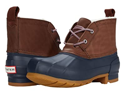 Hunter Original Pac Boot Short (Burnt Sienna/Navy) Women