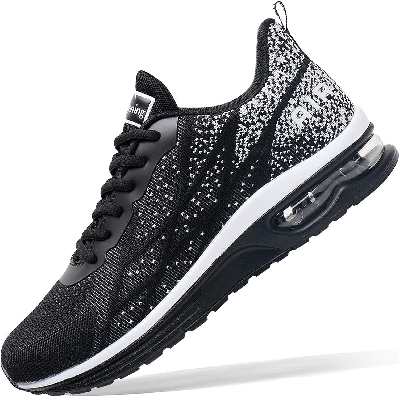 Mens Air Athletic Running Tennis Shoes Lightweight Sport Gym Jogging Walking Sneakers US 6.5-US12.5