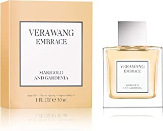 Vera Wang Embrace Eau de Toilette Spray for Women, Marigold and Gardenia, 1 Fluid Ounce