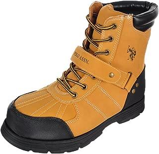 wheat polo boots