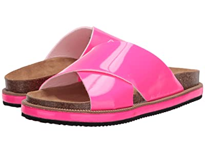 Free People Sidelines Footbed (Pink) Women
