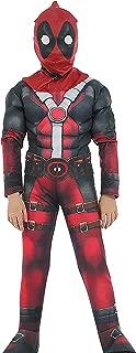 Deadpool Cosplay Halloween Costume Kids Roleplay Boys Outfits Children Superhero Costume Set