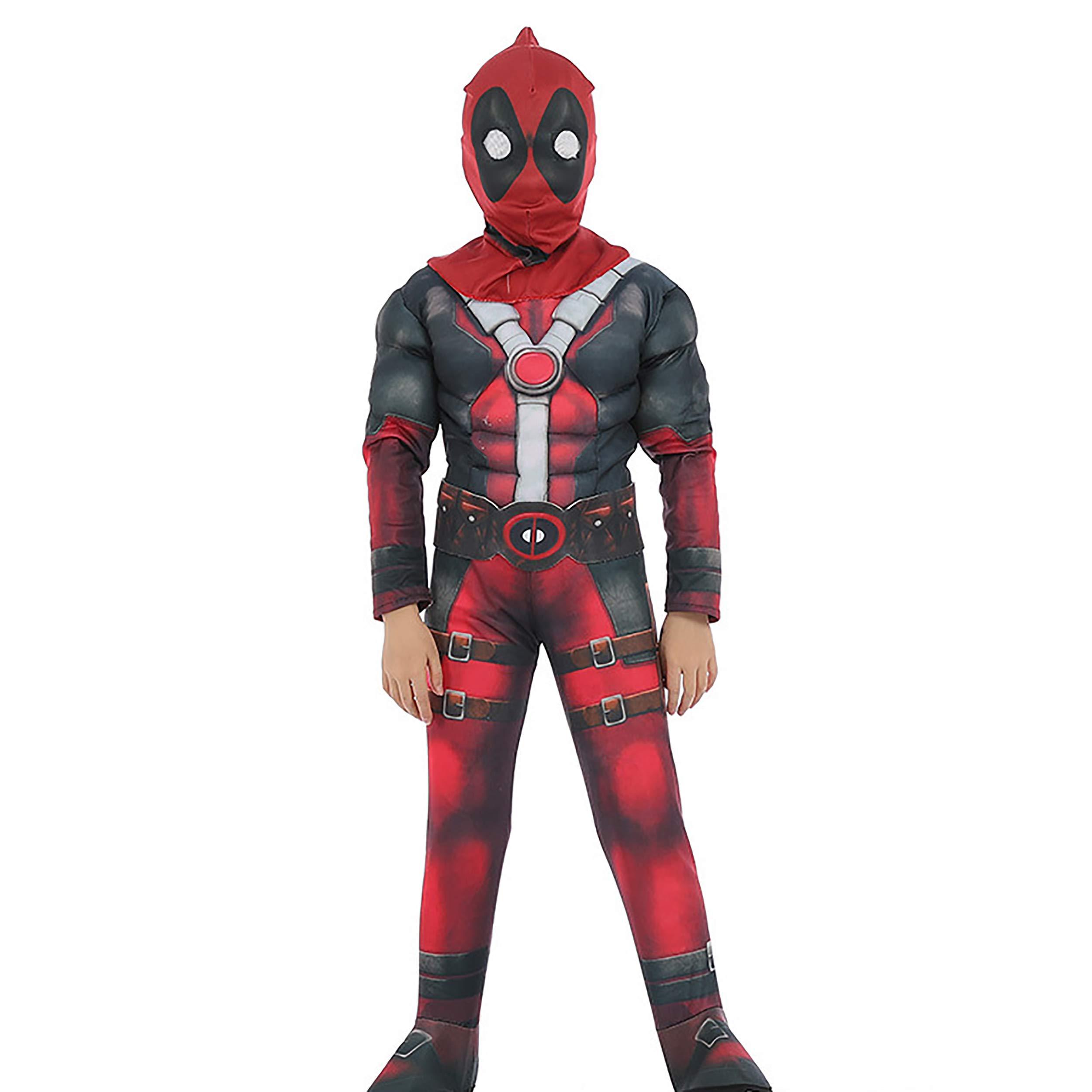 Deadpool Halloween Roleplay Children Superhero
