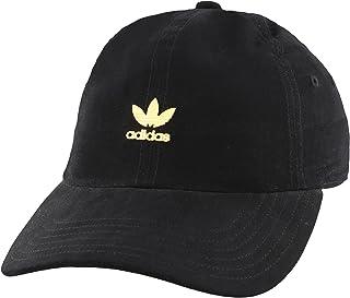 adidas Originals Women's Metal Logo Relaxed Fit Strapback Cap