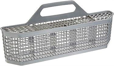 EMVANV Dishwasher Basket, Universal Detachable Dishwasher Handle Cutlery Storage Box Dishwasher Cutlery Basket Part Accessory