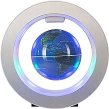 Senders Floating Globe with LED Lights Magnetic Levitation Floating Globe World Map for Desk Decoration (Blue)