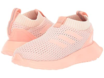 adidas Kids RapidaRun LL Knit (Toddler) (Glow Pink) Girls Shoes