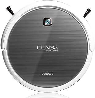 Cecotec Conga Excellence - Robot aspirador (4 en 1, barre, aspira, pasa