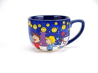 Hallmark 1MJC3054 Charlie Brown Christmas Coffee Mug, One Size, Blue Lights