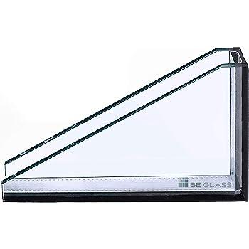 klar durchsichtig 4mm Ecken gesto/ßen. Zuschnitt nach Wunsch millimetergenau bis 100 x 200 cm Glasplatten nach Ma/ß 1000 x 2000 mm Kanten geschliffen und poliert