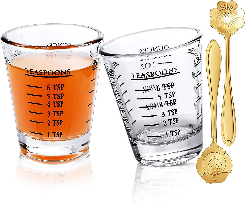 Shot Virginia Beach Mall Super Special SALE held Glasses Measuring cup Liquid Espress Wine Glass Heavy
