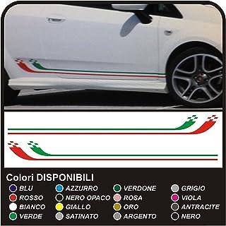 Quattroerre 5430 3D Stripe reflektierende Tricolore Italien