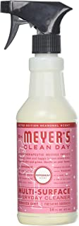 Mrs. Meyer's Multi-Surface Cleaner, Peppermint, 16 OZ (Pack of 6)