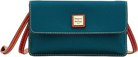 Dooney & Bourke Pebble Grain Milly Crossbody Shoulder Bag Teal