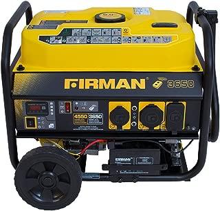 Firman P03603 4550/3650 Watt Remote Start Gas Portable Generator cETL Certified