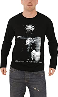 Darkthrone A Blaze In The Northern Sky Official Mens Long Sleeve T Shirt