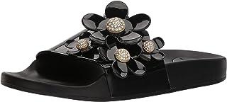 Marc Jacobs Women's Daisy Pave Aqua Slide Sandal