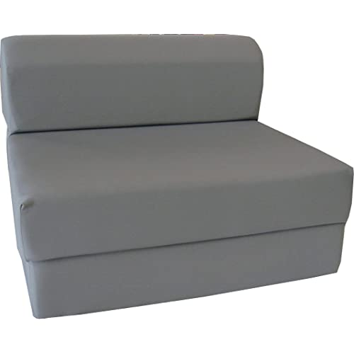 Bedding Sofa Full Sleeper Chair Folding Foam Beds Couches 6x48x72 White