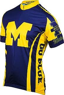 NCAA Michigan Wolverines Cycling Jersey