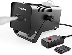 Theefun 400-Watt Portable Halloween and Party Fog Machine with Wireless Remote Control for Holidays, Weddings - impressive output