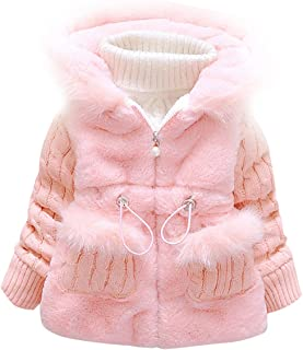 Little Girl's Baby Toddler Kids Clothes Winter Outerwear Coat Jacket