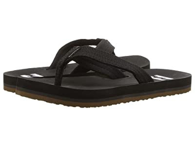 Billabong Stoked Sandal (Toddler/Little Kid) (Black) Men