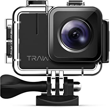 Apeman Trawo A100 Real 4K WiFi 20MP Waterproof Action Camera