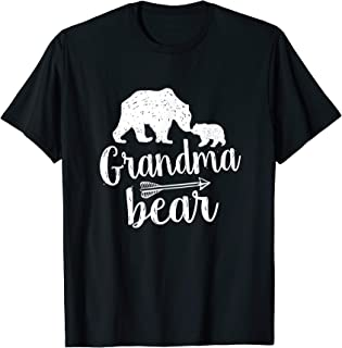 Cute Grandma Bear Mother's Day Gift T-Shirt