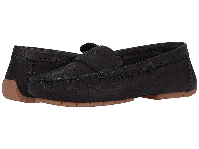 Clarks  C Mocc (Black Nubuck) Womens Shoes