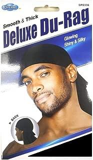 Dream Du-Rag (Smooth & Thick 3 Pack, Black)