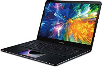 CUK ASUS ZenBook Pro 15 UX580GE Touchscreen Business Ultrabook Laptop with Screenpad (Intel i9-8950HK, NVIDIA GeForce GTX 1050 Ti, 16GB RAM, 1TB NVMe SSD, 15.6