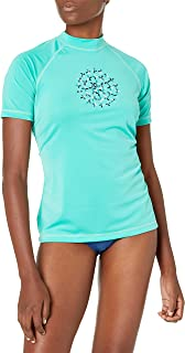 Kanu Surf Women's Audrey Short Sleeved UPF 50+ Active Rashguard and Workout Top