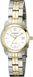 Tissot Women's T0492102201700 PR 100 Analog Display Swiss Quartz Two Tone Watch