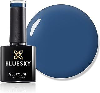 Bluesky Gel Nail Polish, Blue Rapture 80558, Blue, Dark,Winter 10 ml (Requires Curing Under UV LED Lamp)