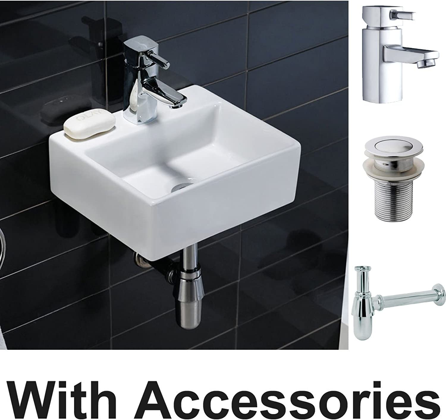 Generic ....m Bas Sink Sink Sink Tap ste Tra Mixer Waste Trap SET Sink Tap Mix Wall Hung Cloakroom Compact Square Ceramic c Wa Cloakroom Basin Square Cerami 0776a5