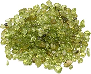 GOZAR 50 G Natural Olivino Verde Peridot Cuarzo Cristal Piedras Roca Diseño Accesorios