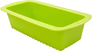 Marathon KW200009GR Premium Silicone Non-Stick Loaf, Bread and Cake Pan. BPA Free, Oven and Dishwasher Safe, Color – Green.