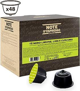 comprar comparacion Note D'Espresso Cápsulas de Té Negro con Limón, Lima y Cúrcuma - 48 x 16 g, Total: 768 g