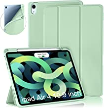 Cousper Slim Magnetic Case for iPad Air 4 Case 2020, iPad Air 4th Gen 10.9 inch Shell Stand Case Cover with Pencil Holder ...