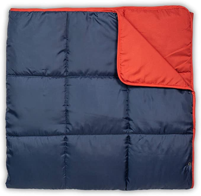 Leisure Co Ultra-Portable Outdoor Camping Blanket - The Most Convenient Blanket