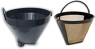 Cuisinart Basket Plus Filter DCC-1200FB Filter Basket & Cuisinart Gold Tone Filter GTF