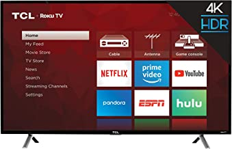 TCL 49S405 49-Inch 4K UHD Smart LED Roku TV (Renewed)