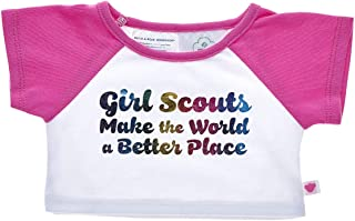 Build A Bear Workshop Girl Scouts Make The World a Better Place Tee