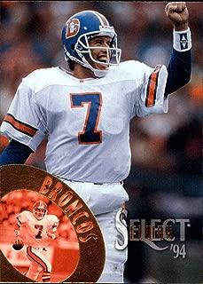 1994 Select FB Denver Broncos Team Set John Elway 8 Cards NrMt-Mint
