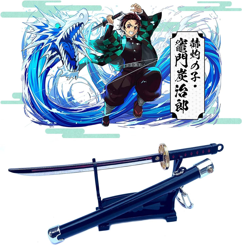 Anime KeyChain Anime Sword KeyChains Kids Keyrin Pendant Toys for Boys