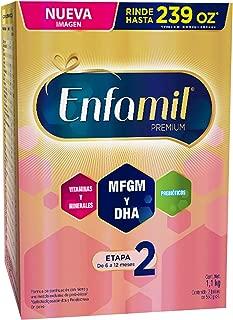 Fórmula Láctea de Continuación, Enfamil Premium Etapa 2 para Lactantes de 6 a 12 meses ,Caja de 1,100 kg